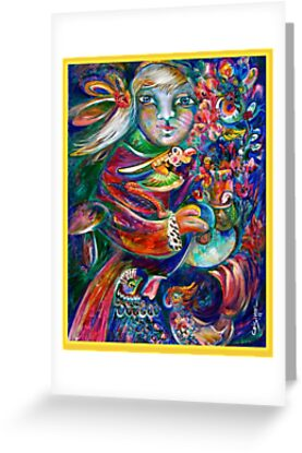 Orphan Child with Flowers by CrismanArt