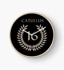 Catullus 16 Clock