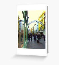 Carnaby Street, London Greeting Card