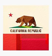 California Photographic Print