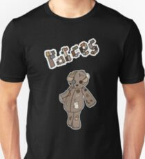 Patches the Teddy Bear Unisex T-Shirt