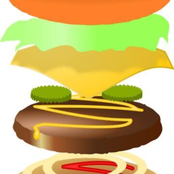 Hamburger by juldie