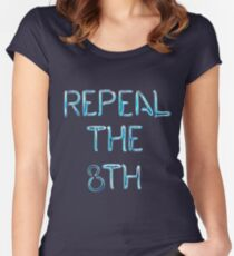 Repeal in Neon Lights  Women's Fitted Scoop T-Shirt