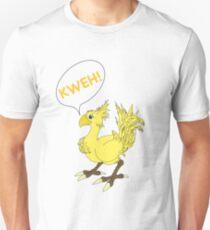 Chocobo KWEH! Unisex T-Shirt