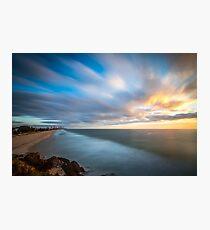 long exposure beach sunrise Photographic Print