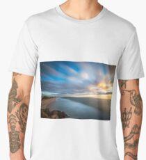 long exposure beach sunrise Men's Premium T-Shirt