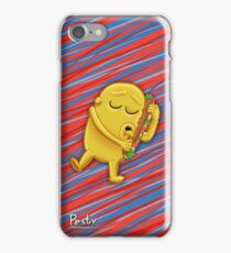 Jake loves food - Cover iPhone Case/Skin