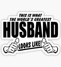 Worlds Best Husband Stickers Redbubble