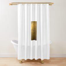 Cortina de ducha hacer el trabajo (rectangular)
