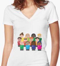 SuperDesigners Fitted V-Neck T-Shirt