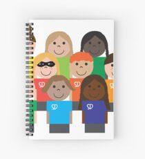 SuperDesigners Spiral Notebook