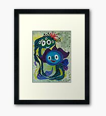 Best Friend : Funny Animal Series Framed Print