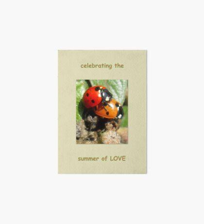 Celebrating the summer of LOVE Art Board