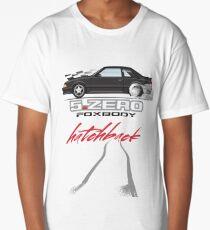 Black Hatchback Long T-Shirt