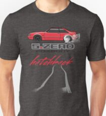 Red Hatchback Unisex T-Shirt