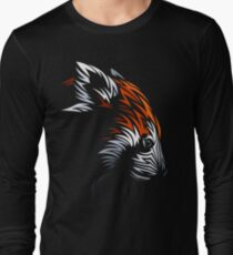 Tribal Red Panda Long Sleeve T-Shirt