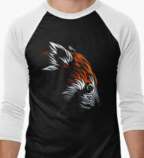 Tribal Red Panda Men's Baseball ¾ T-Shirt