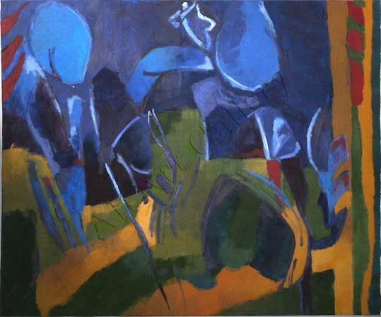 Blue Women by atiart