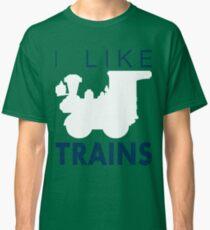 Rail King, I like trains Classic T-Shirt