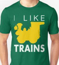 Rail King, I like trains Unisex T-Shirt