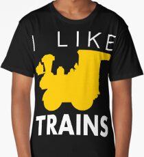 Rail King, I like trains Long T-Shirt