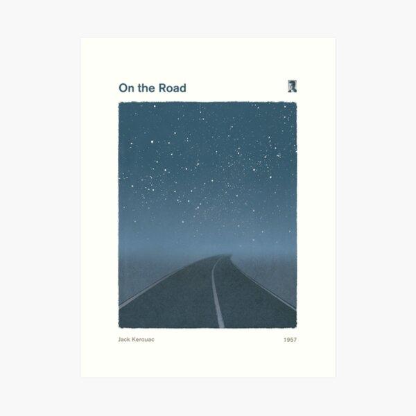 Jack Kerouac - En el camino Lámina artística