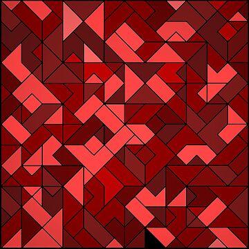 Red Maze by elektronen