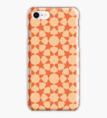 Arabic pattern - orange iPhone Case/Skin
