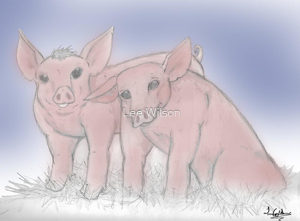 Pleasant Pigs by Lee Wilson