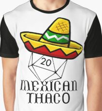 Mexican Thac0 Graphic T-Shirt