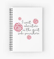I want adventure Spiral Notebook