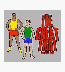 The Great Fight Photographic Print