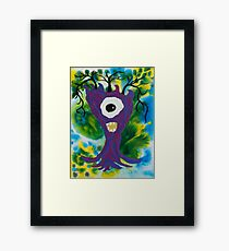 Squiddy : Funny Animal Series Framed Print