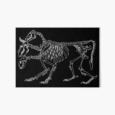 Chimera Skeleton (White) Art Board Print