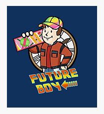 Future Boy Photographic Print
