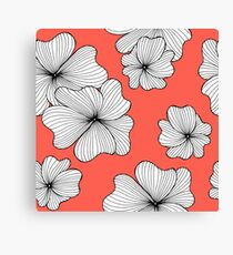 flowers red Canvas Print