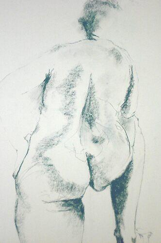Nude Rear by Moira  McClaren