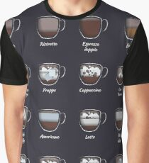 The coffee map Graphic T-Shirt