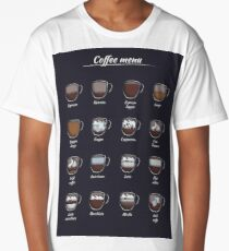 The coffee map Long T-Shirt