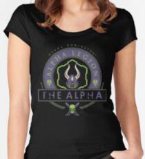 The Alpha - Elite Edition Women's Fitted Scoop T-Shirt