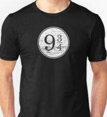 Train Station Platform Number Unisex T-Shirt