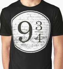 Train Station Platform Number Graphic T-Shirt