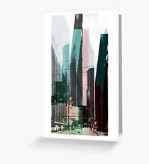 SKY LINES Greeting Card