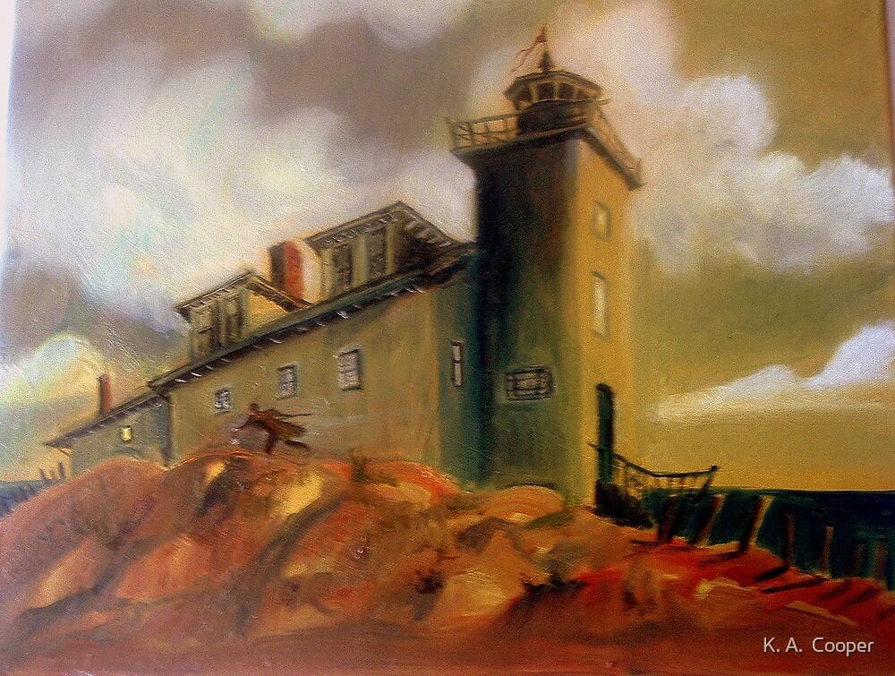 Stormy daze by K. A.  Cooper