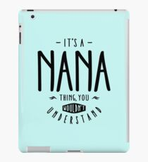 Vinilo o funda para iPad Nana Thing