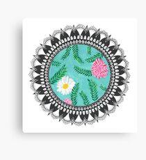 Floral Utopia Canvas Print