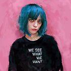«nosotros vemos lo que queremos» de Ivana Besevic