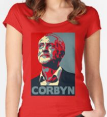 Jeremy Corbyn T shirt Women's Fitted Scoop T-Shirt