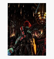 Mass Effect - Shepard told us... Photographic Print