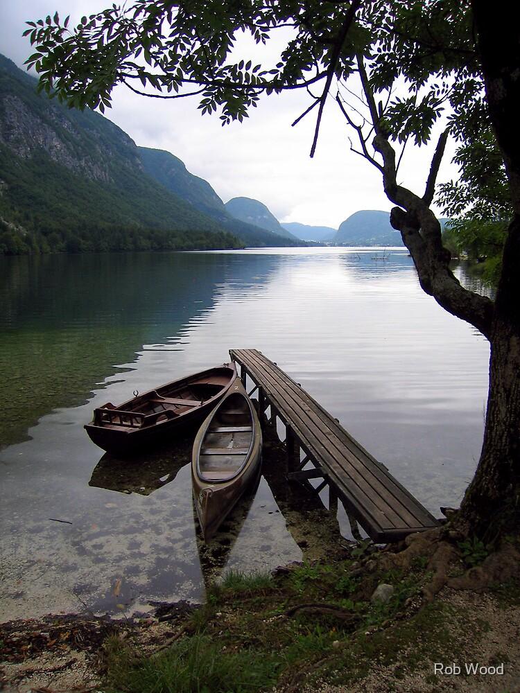 Slovenian Lake by Rob Wood